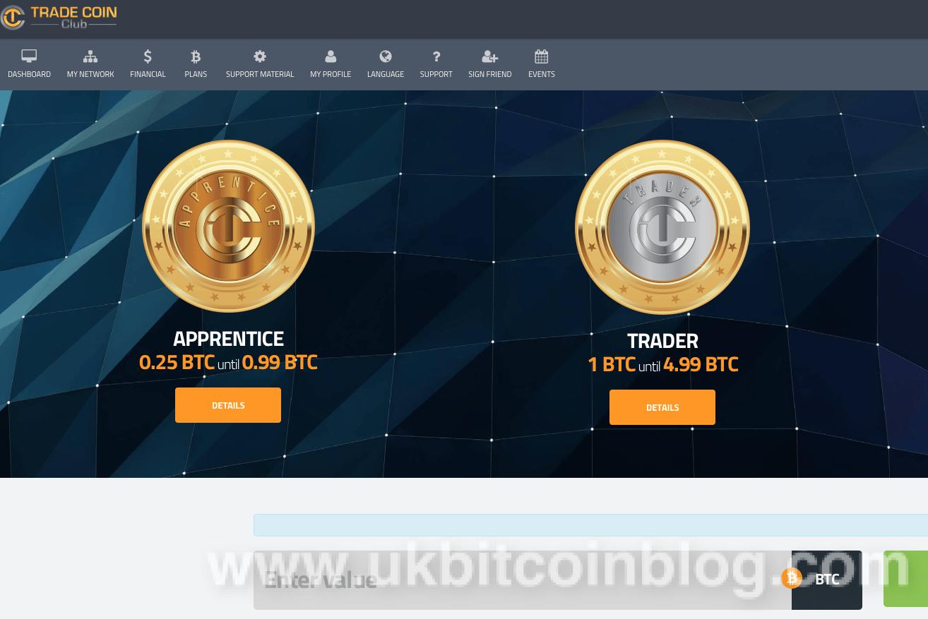 btc trade coin club
