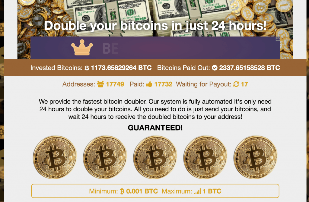 Bitcoin Value In Us Dollars Bitcoin Doubler Scam Or Legit